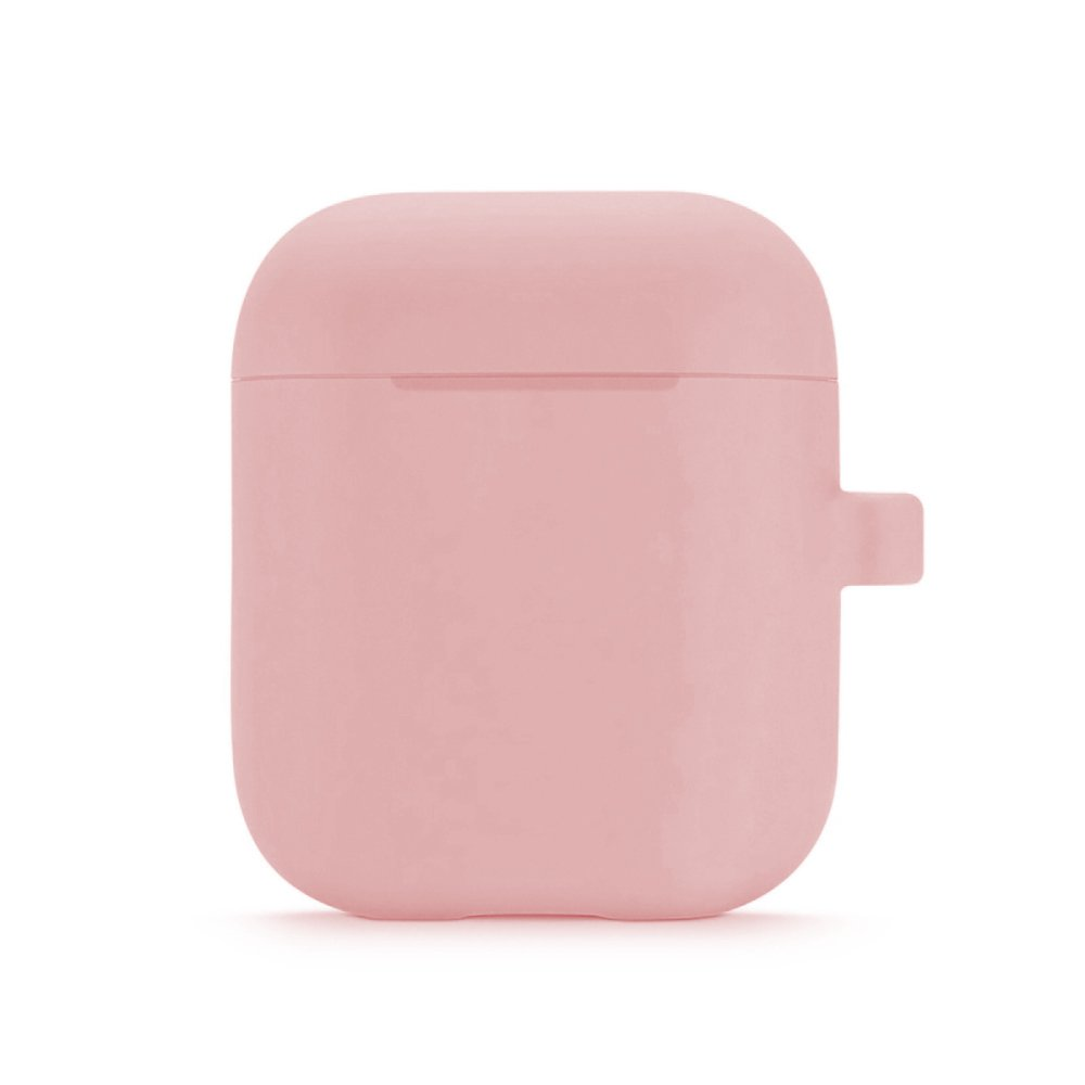 Housse de protection Airpods Silicone Liquide Rose