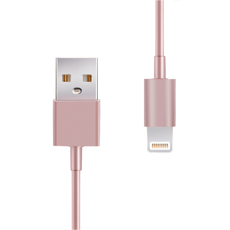 Câble USB Lightning Rose Gold 2m