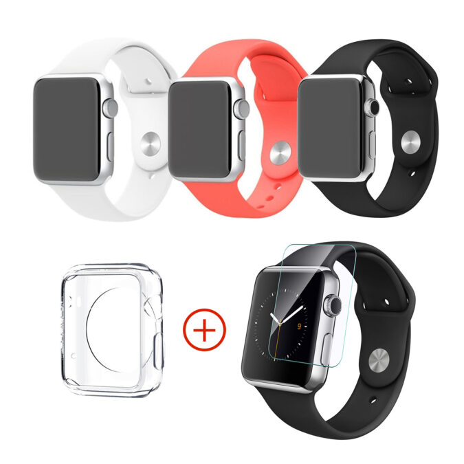Pack essentiel compatible avec Apple Watch 38mm