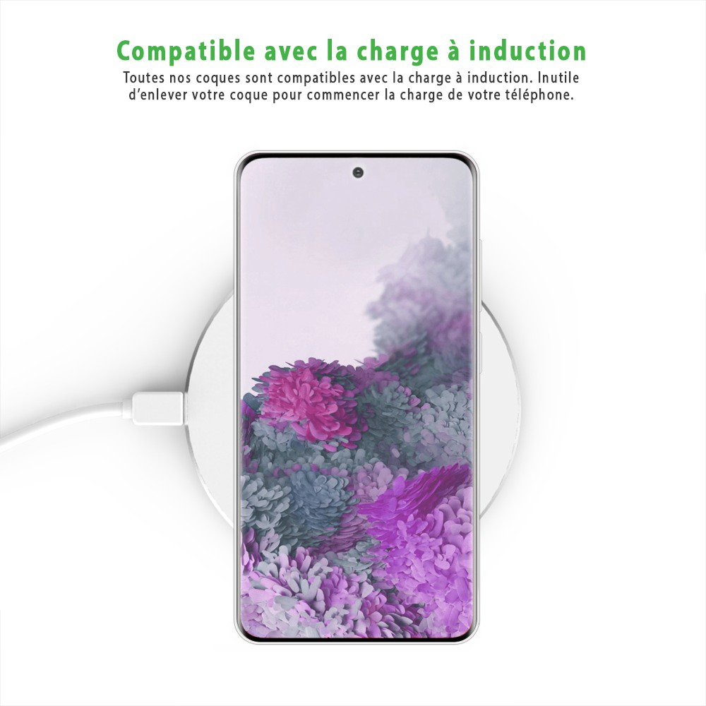 Coque Samsung Galaxy S20 Ultra 5G 360° intégrale protection avant arrière silicone transparente