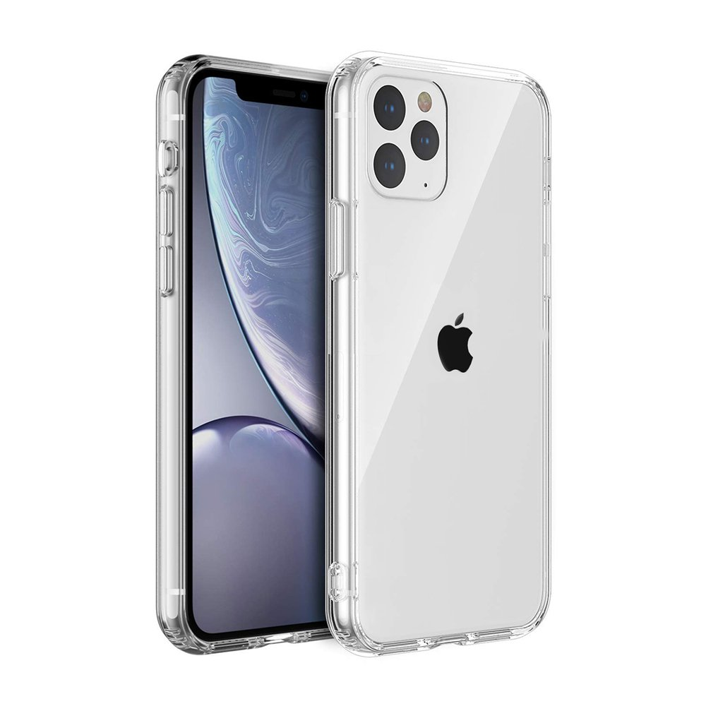 Coque compatible avec iPhone 11 Pro Max Souple en silicone transparente